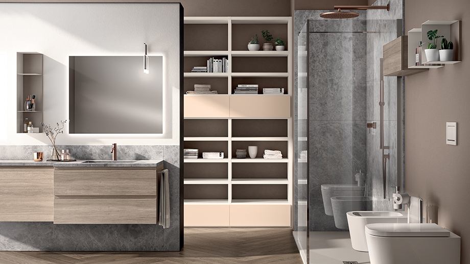 Living bathroom: how to furnish it